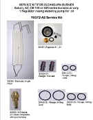 SERVICE KIT SATURN A2 OR CB 525/550S2 / CB 551 H3 / 551 H5